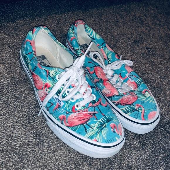 546cf0bb60 VANS Authentic Van Doren Flamingo Skate Shoes. M 5c2687a03c98444d3f7c9058